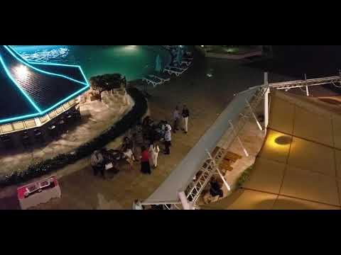 Night Time at Accra Beach Resort & Spa, Christ Church, Barbados