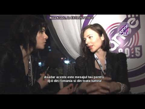 Nina Kraviz - DanceFM - Inteviu Exclusiv @ The Mission 1 Mai 2011