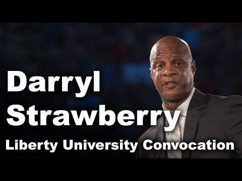 Darryl Strawberry - Liberty University Convocation