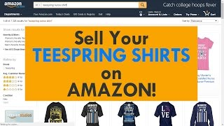 HUGE OPPORTUNITY: Teespring Integrates with Amazon! thumbnail