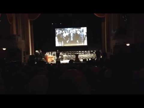 """WPAS Choir sings """"Oh Freedom"""" during Memorial Service for Julian Bond at The Lincoln Theatre in DC"""