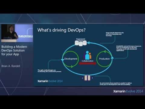 Xamarin Evolve 2014: Building a Modern DevOps Solution - Brian A. Randell, MCW Technologies LLC