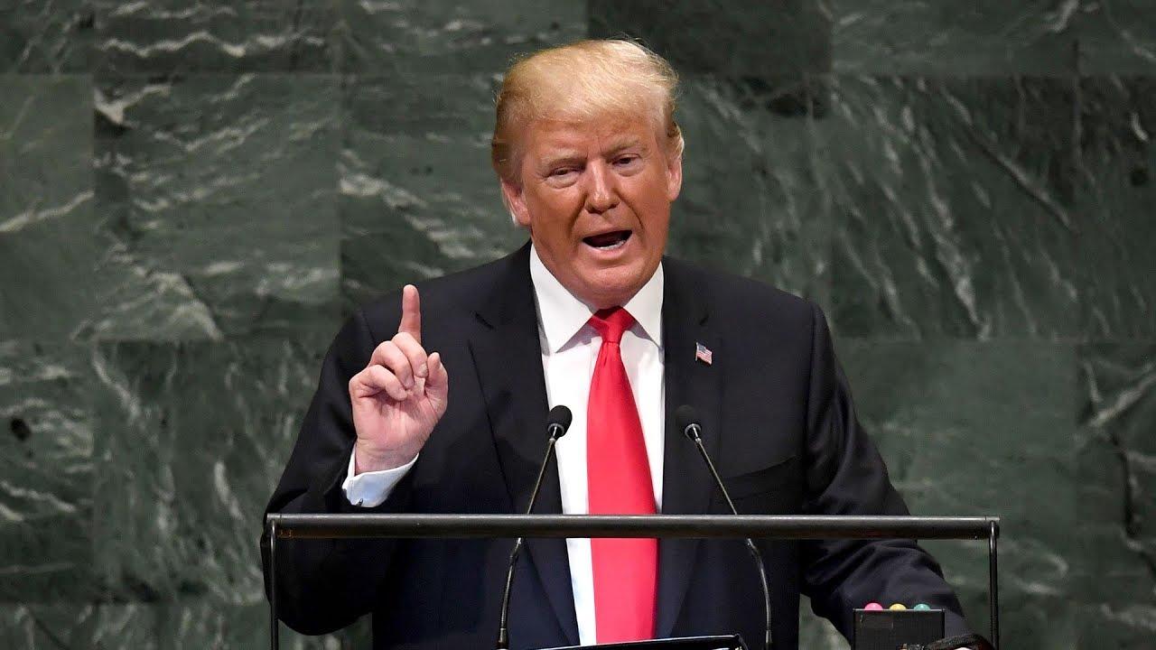 Trump addresses 73rd UN General Assembly | UNGA 2018 | FULL SPEECH