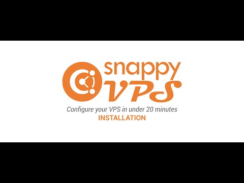 SnappyVPS - Installation Step-by-step