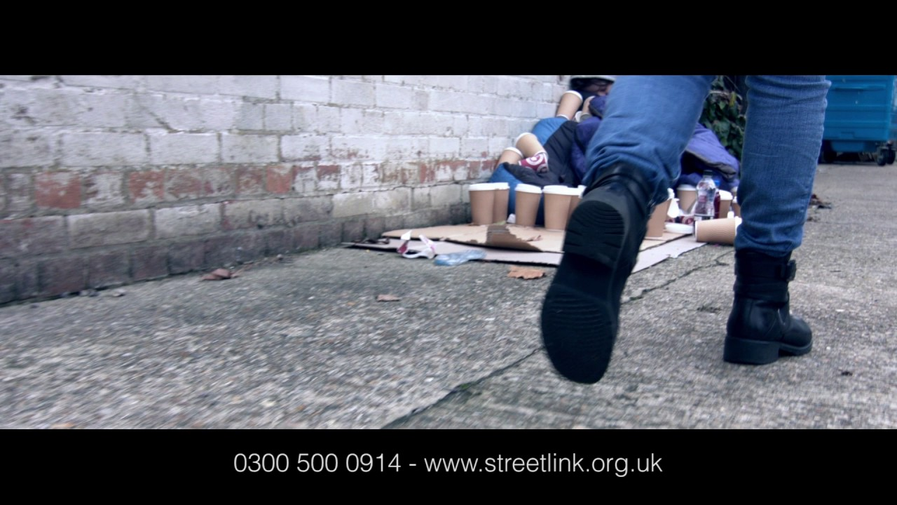How to help people who are homeless in Ipswich. - YouTube