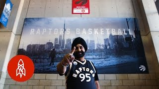 This Toronto Raptors Super Fan Hasn't Missed a Game in 20 Years