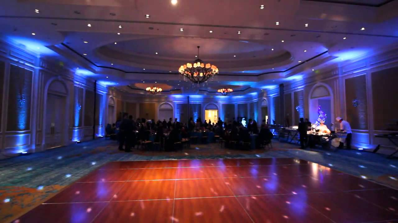 Small Floor Spotlights Sample Uplighting And Small Dance Floor Lighting Holiday Party