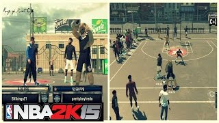 NBA 2K15 | My Park Gameplay | Legend 3 Mascot | 2k16 announcement - Prettyboyfredo