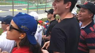 Largada GP Brasil de Fórmula 1 2018
