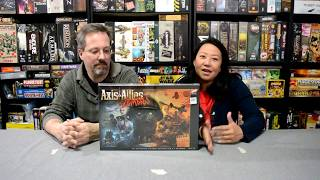 Unboxing of Axis and Allies Zombies by Avalon Hill