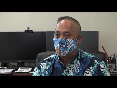 Guam Airport showcasing new safety measures