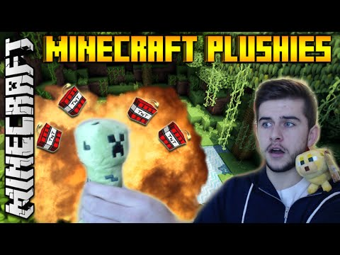 REAL MINECRAFT TOYS! - CREEPER & OCELOT PLUSHIES! & TOY HORSE UNBOXING!