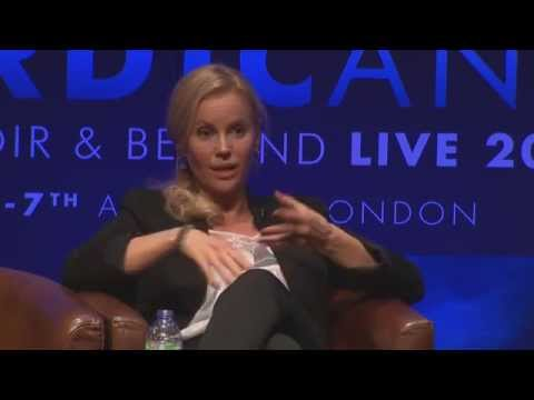 Sofia Helin from The Bridge  Q&A at Nordicana 2015 with Angie Errigo