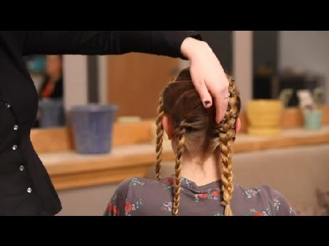 How to Braid Hair to Get Waves After : Hair Braiding