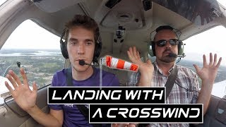 Learning To Land With A Crosswind| PA28