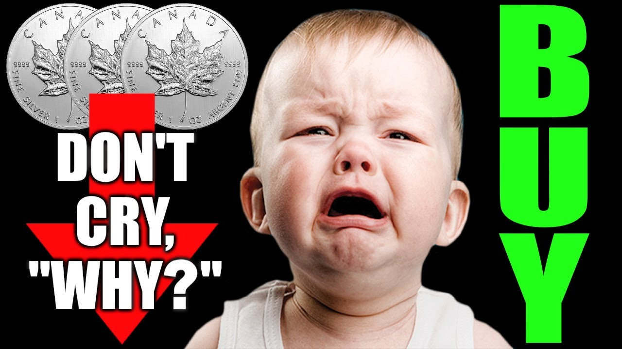 Silver Spanked?  Don't Cry...BUY!