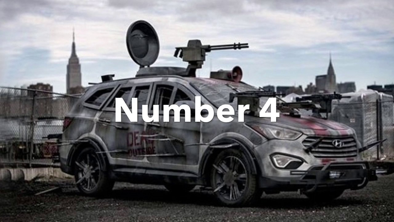 Top 10 Zombie Proof Cars