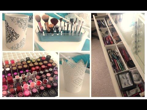 Makeup Storage Tips & Ideas
