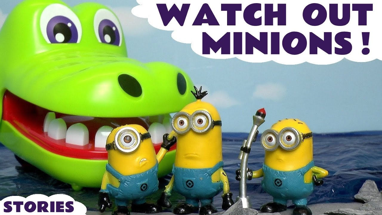Minions Despicable Me Compilation of Funny Mini Movies with Thomas and Friends & Paw Patrol TT4U