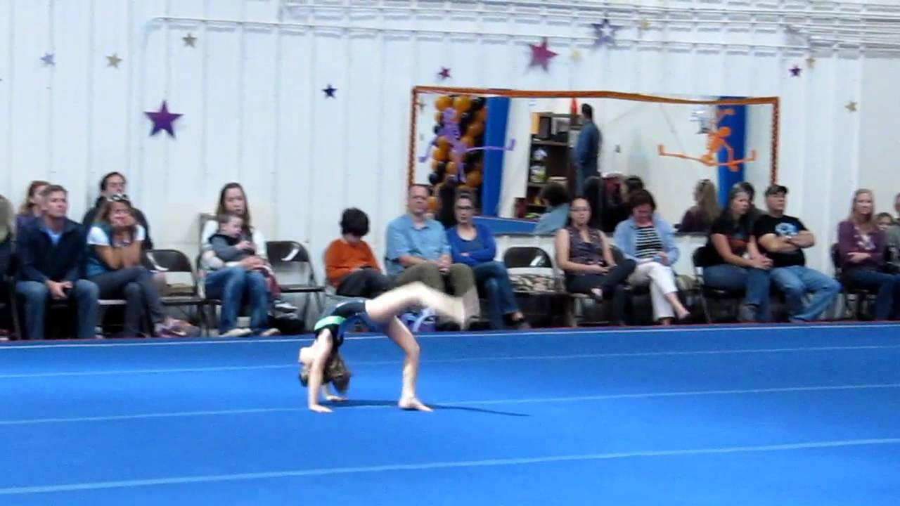 paige smith gymnastics meet 2013