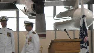 Coast Guard Air Station Kodiak change of command