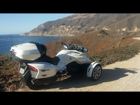 PART 1 of 3 - 2017 F3 Limited Can Am Spyder Review - 10 day Roadtest