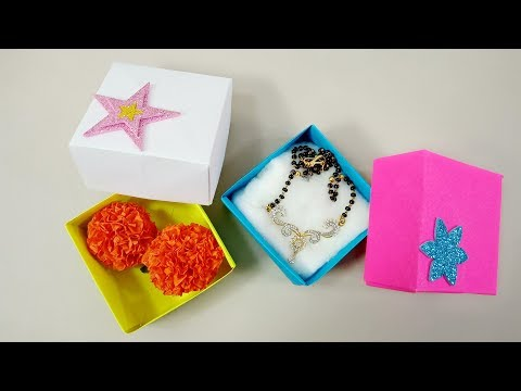 How to Make Paper Box | Paper Organizer | Crafts Junction