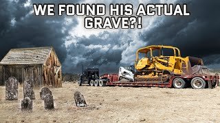 We Found Butch Cassidy's Secret Cabin & Gravesite (And Then Recovered A HUGE Old Tractor)