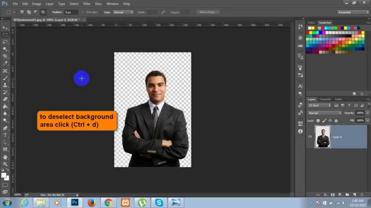 Move, copy, and delete selected pixels in Photoshop