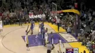 Clippers-Lakers 85-88 I Gordon 24pts,8reb,Randolph 18pts,10reb vs Odom 18pts,10reb,Bryant 18pts