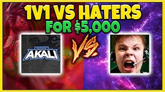 *HE CALLED ME OUT* 1V1 VS MY BIGGEST HATER ($5000 BET) - League of Legends