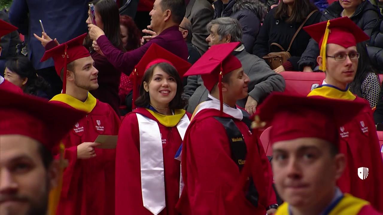 Stony Brook Winter Commencement 2016: Full Ceremony - YouTube