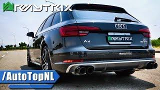2017 Audi A4 Quattro (B9) w/ Armytrix Exhaust – LOUD DYNO & DRIVING SOUND!