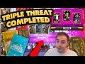 NBA 2K19 My Team TRIPLE THREAT COMPLETED! REWARD PACKS & LIMITED CARDS???