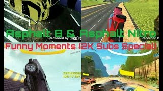 Asphalt 8 & Asphalt Nitro Funny And Awesome Moments (2k Subs Special)