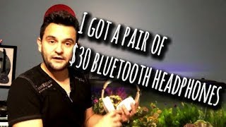 Cheap $30 bluetooth headphones... and they rock! | Riwbox WB5