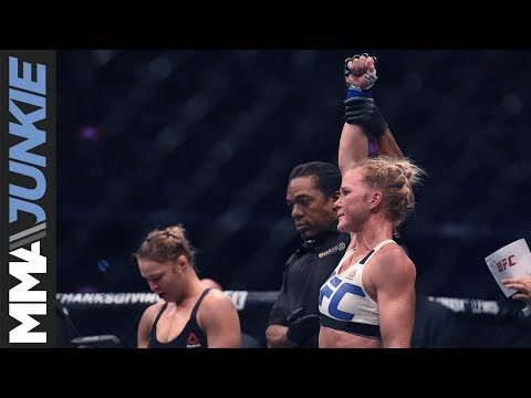 Holly Holm looking to get back to winning ways, reward coaches for their work