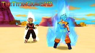 Dragon Ball Z Shin Budokai 2 Mods - Zamasu Fusion Vs Goku Ssj Blue