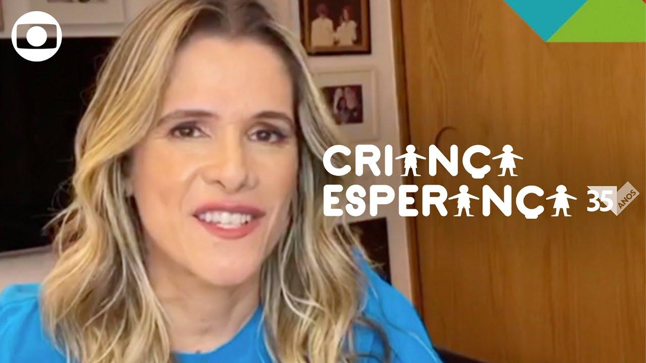 Criança Esperança: Ingrid Guimarães te convida para doar esperança!