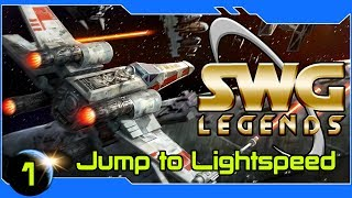 SWG: Legends  - Jump To Lightspeed! Piloting in SWG