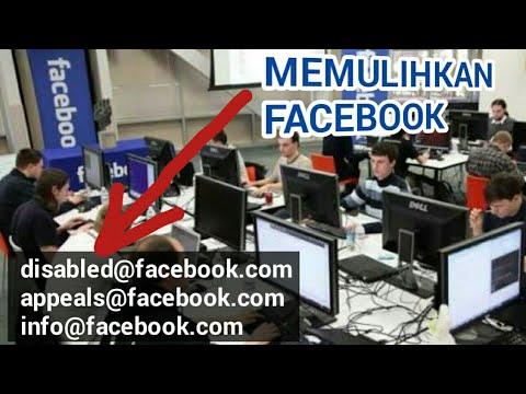 Cara Mengatasi Akun Facebook di Nonaktifkan.