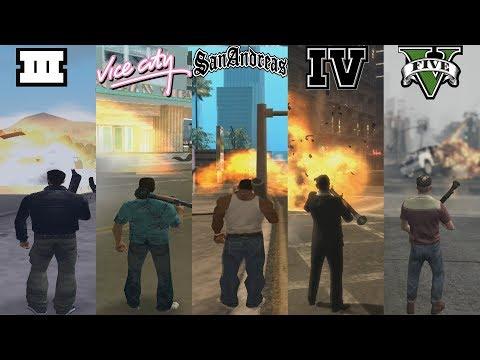 RPG Evolution In GTA Games! 1997-2019