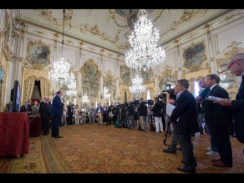 Quirinale: la stampa visita le nuove sale aperte al pubblico