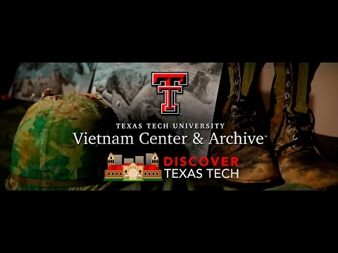 Discover Texas Tech: The Vietnam Center and Archive