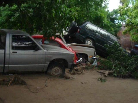 Desastre en Alamos, Sonora 2008