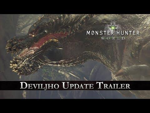 Monster Hunter: World - Deviljho Update Trailer thumbnail