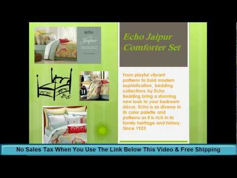 Echo Bedding - Echo Jaipur Comforter Set - Echo Design Bedding