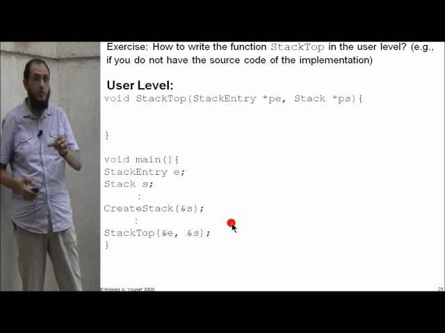05 Stacks: Array-based implementation III