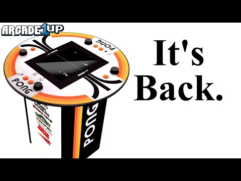 Arcade 1Up's Pong 4 Player Pub Table is Coming...R U You Ready 4 It? Too Niche or Just What U Need? from moxxi