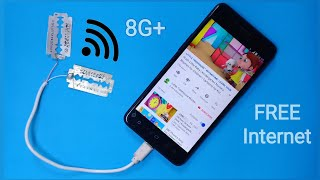 Get Unlimited Free Internet Without Sim Card (8G+ Super Speed)    Make Free WiFi at Home 2019